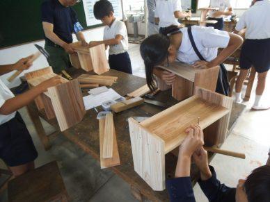 ものづくり体験教室(建築大工)