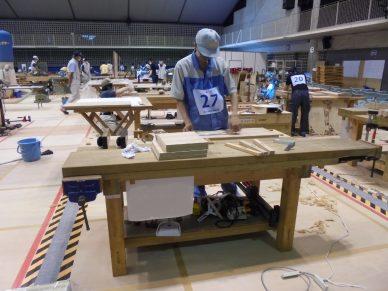 技能五輪全国大会(家具製作)